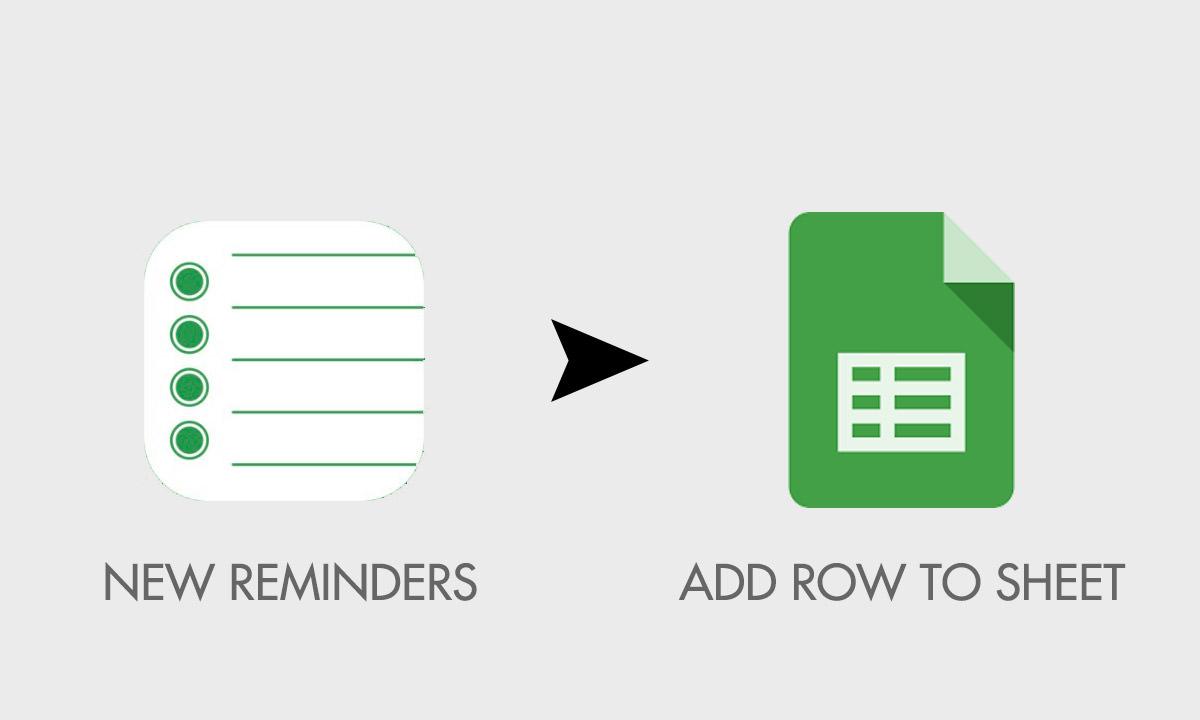 backup reminders to spreadsheet