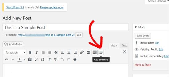 Add Columns Icon Lightweight Grid Columns Plugin