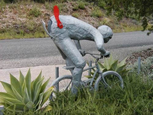 Cyclist mailbox
