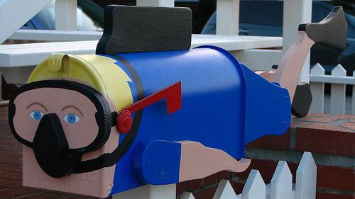 Diver mailbox