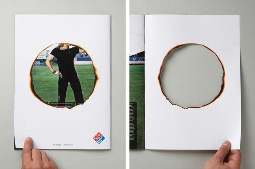 Domino's Pizza advertisement
