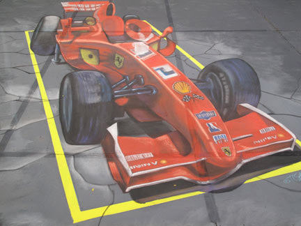 Singapore Grand Prix 3d art