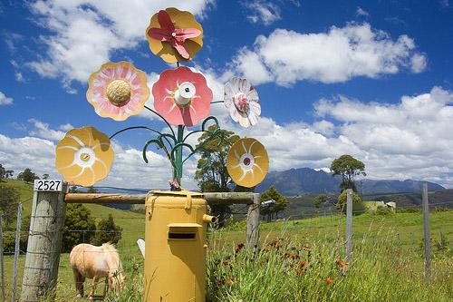Flowering Mailbox