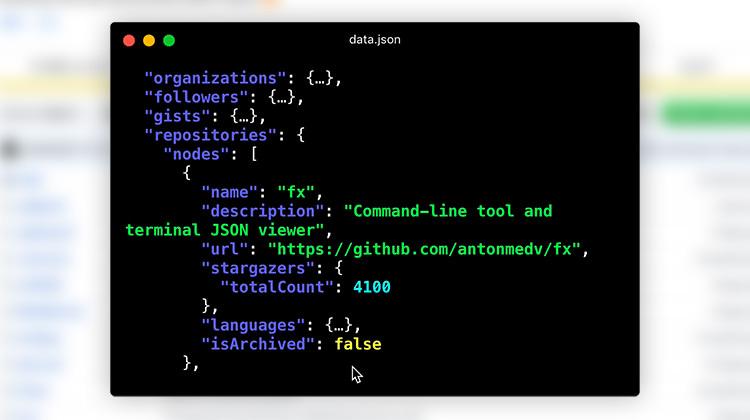 FX command line tool