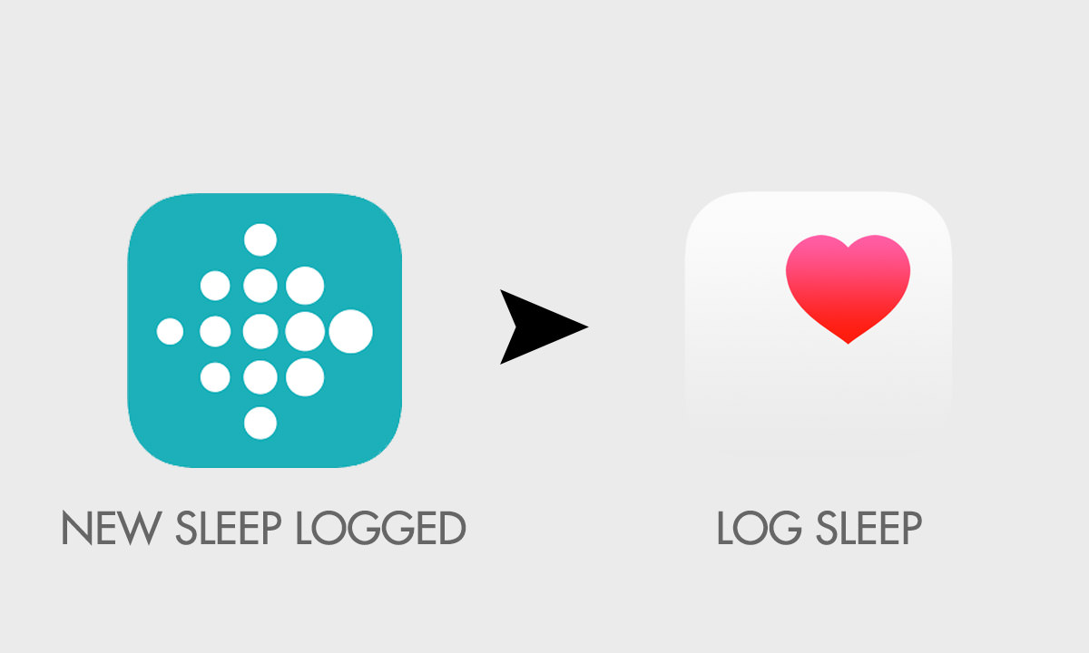 log sleeping with fitbit