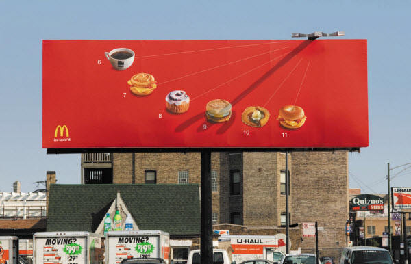 mcdonald sundial billboard