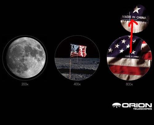 Orion telescope ad