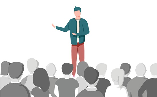 Become a public speaker