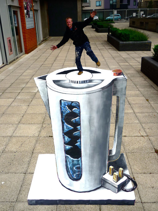 Put the Kettle on 3d art
