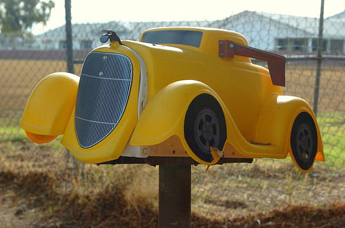 Roll Royce mailbox