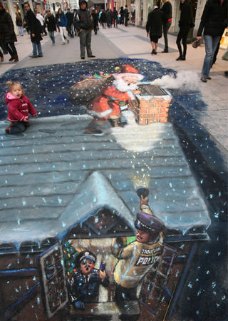 Santa Claus 3d art