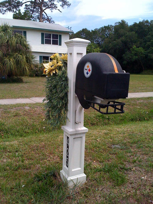 Steelers Fans mailbox