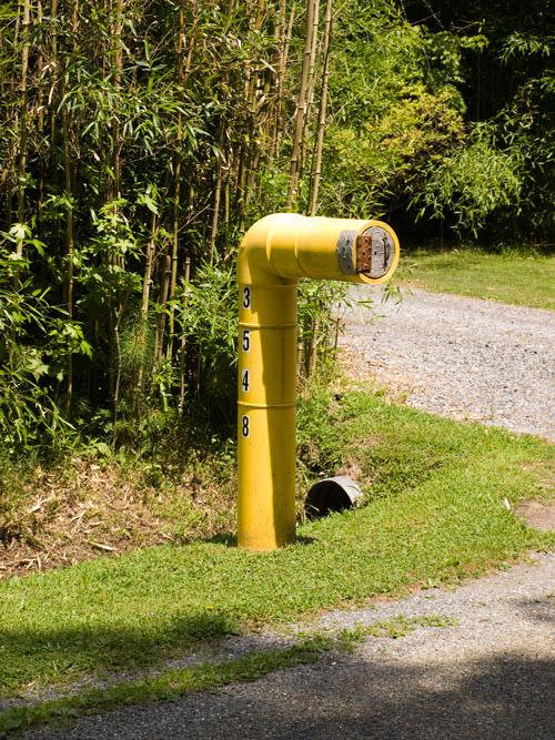 Submarine mailbox