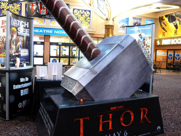 thor's mighty hammer