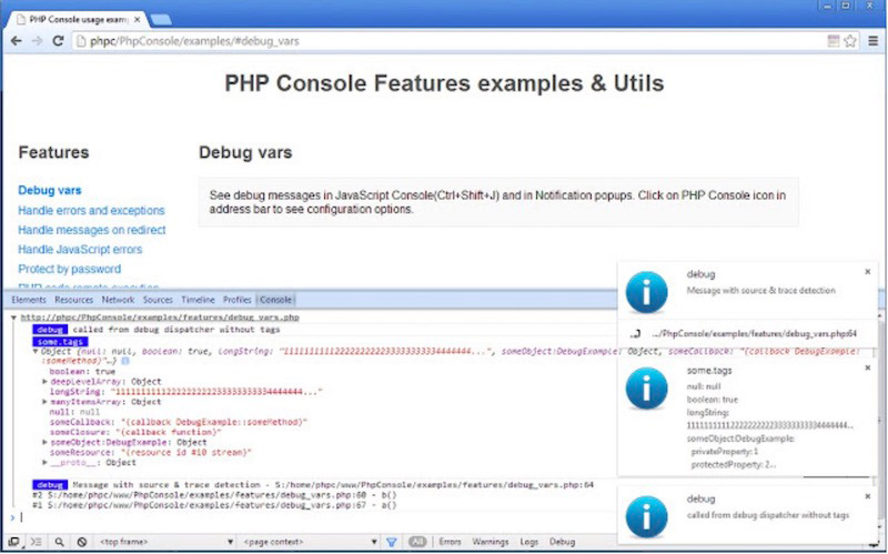 PHP Console