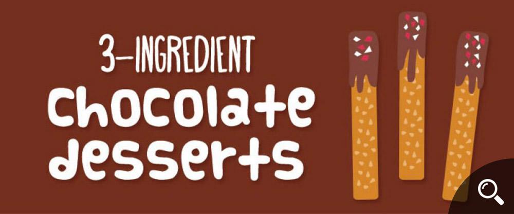 3-Ingredient-Chocolate-Desserts