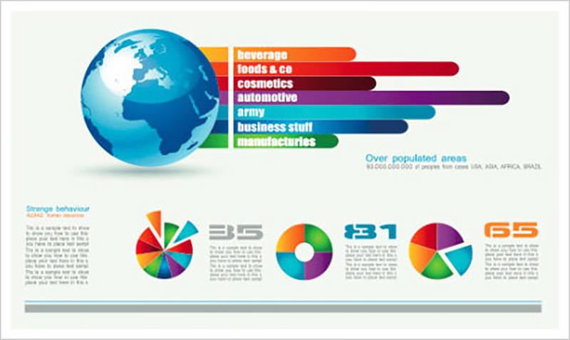 Chart & Infographics Design Elements Vector 05