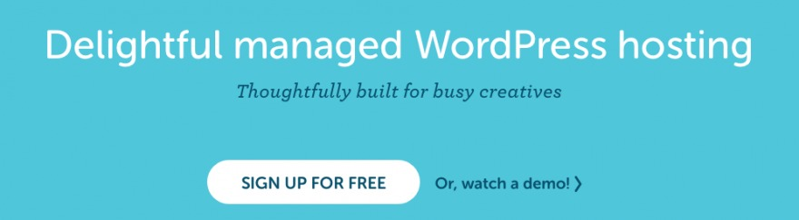 Flywheel's Home page.
