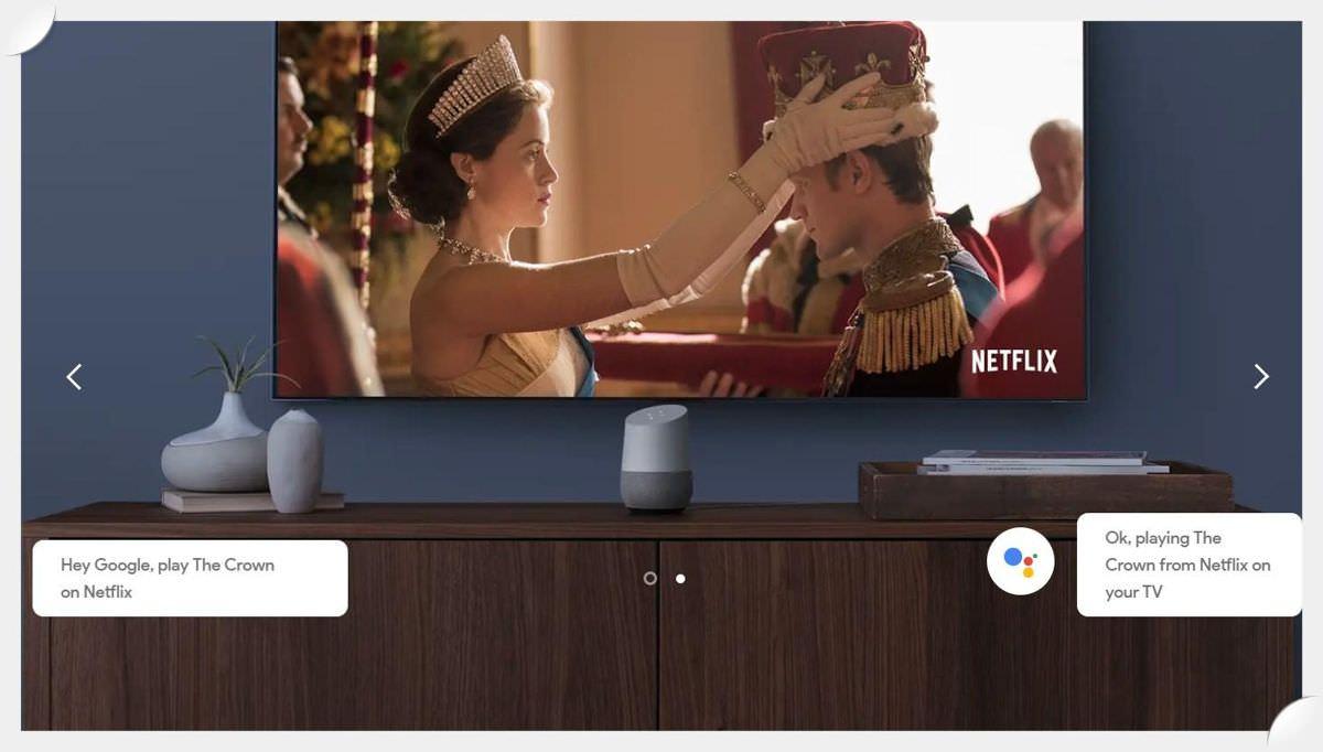 Google Home is an intelligent, smart speaker