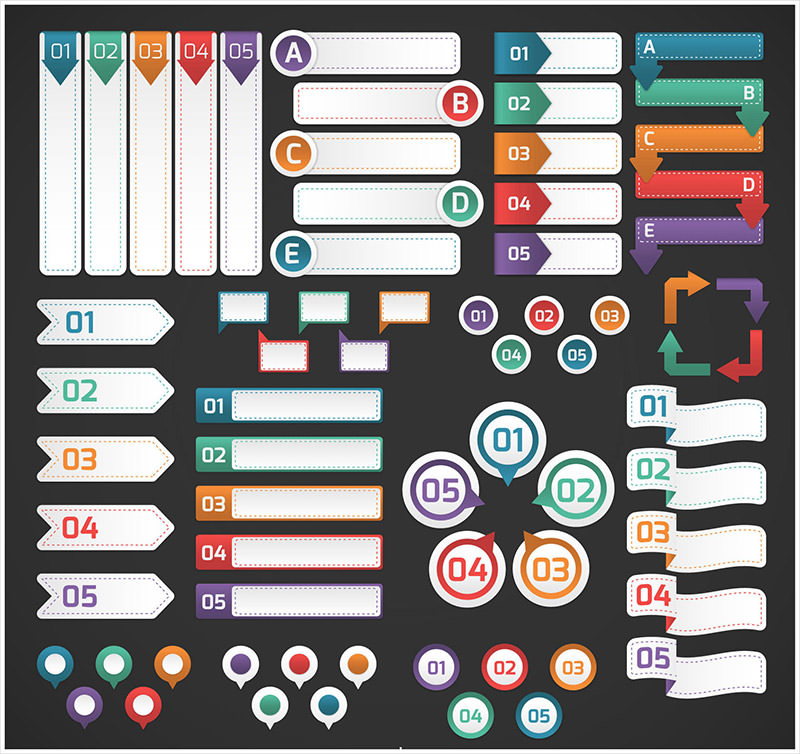 Infographic banner freebies by hongkiat