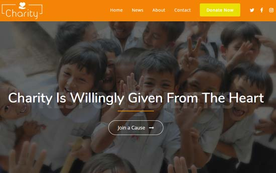 OceanWP charity