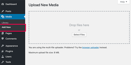 Uploading an image via media uploader in WordPress