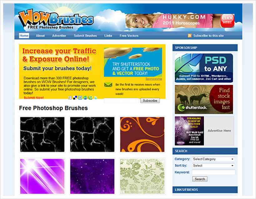 10+ Best Sites to Download Photoshop Brushes