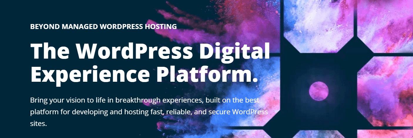 The WPEngine website.