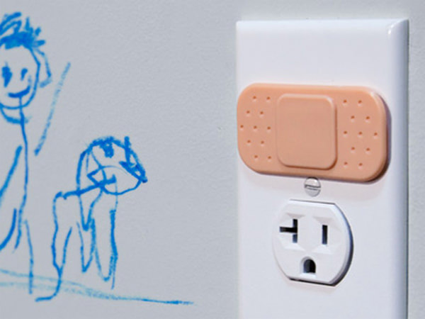 wall socket decorations