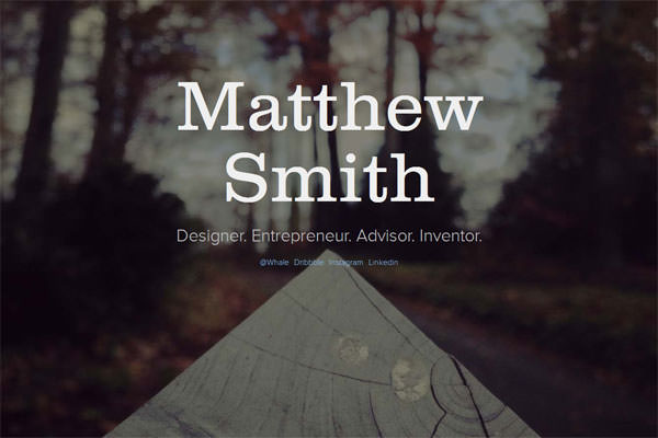 Matthew-Smith-Website