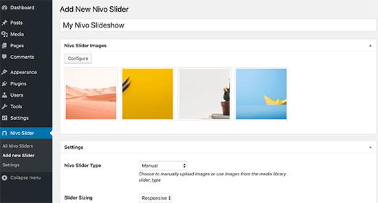 Add new Nivo slider