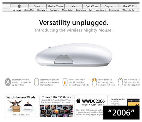 apple 2006