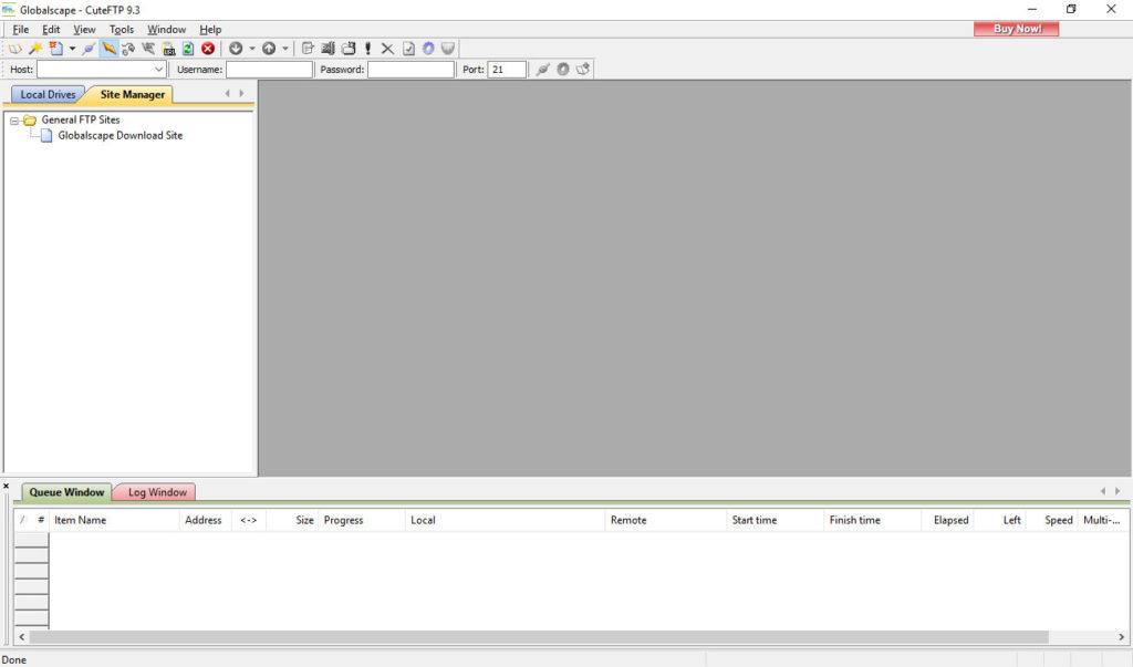 cuteftp ftp client for wordpress