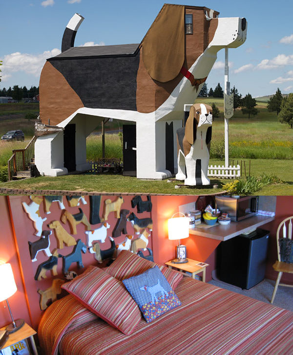 Dog Bark Park Inn, Idaho