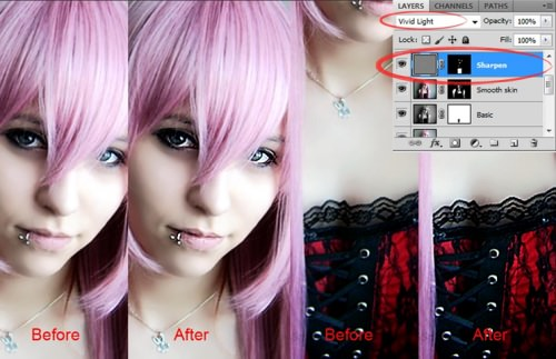 Enhance & Retouch an Image - Step 17