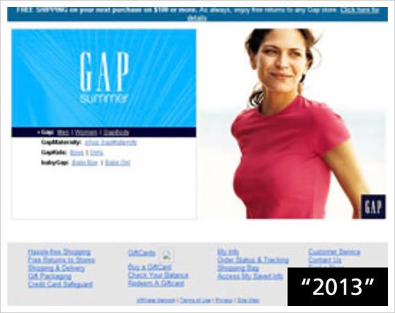 gap 2013