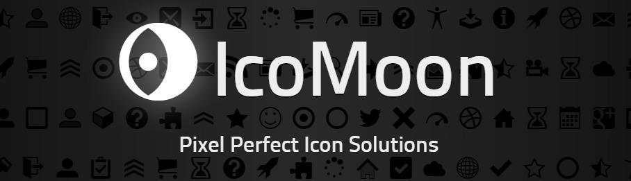 The Icomoon logo.