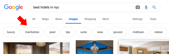 Blog SEO - Image Search Complete Content Tip