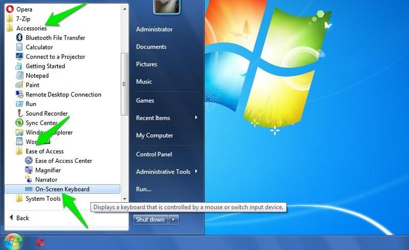 keyboard windows