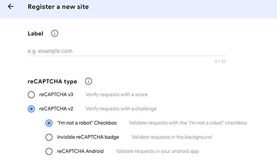 Adding a new site