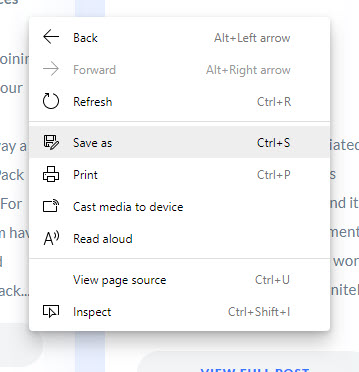 Microsoft Edge Chromium Engine
