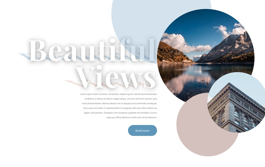 Adding Transformed Shadows to Your Copy with Divi