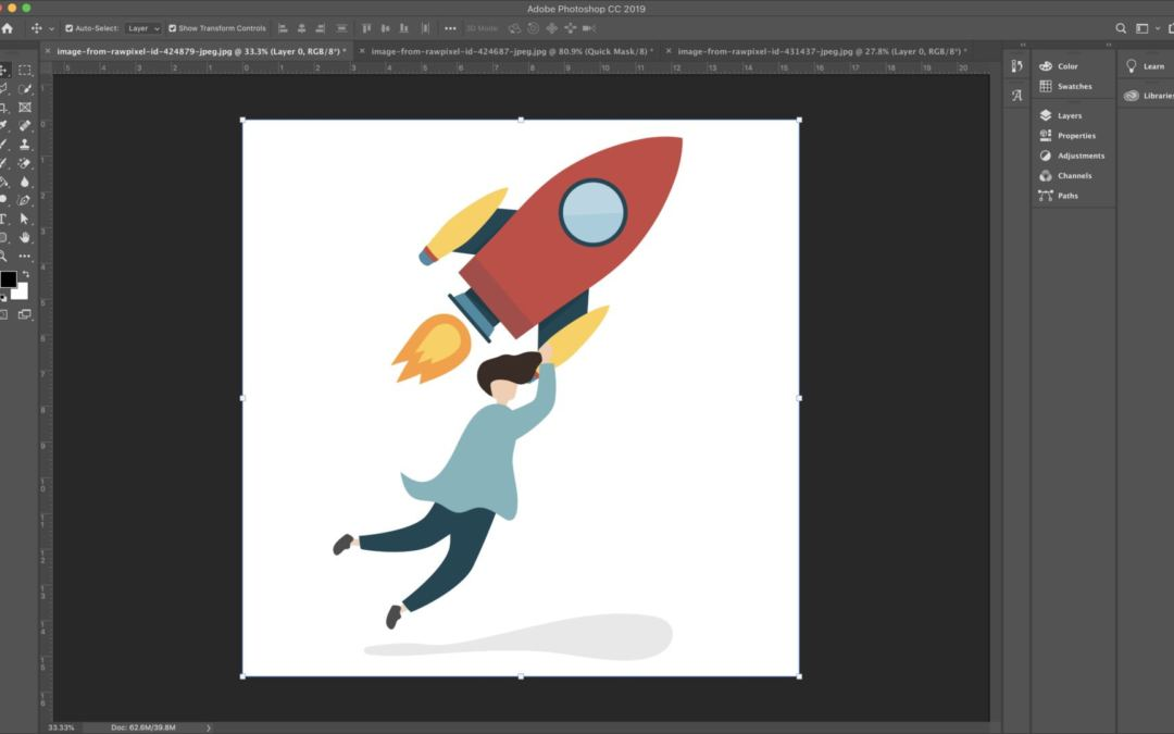 How to Remove the White Background from an Image to Make it Transparent in Photoshop