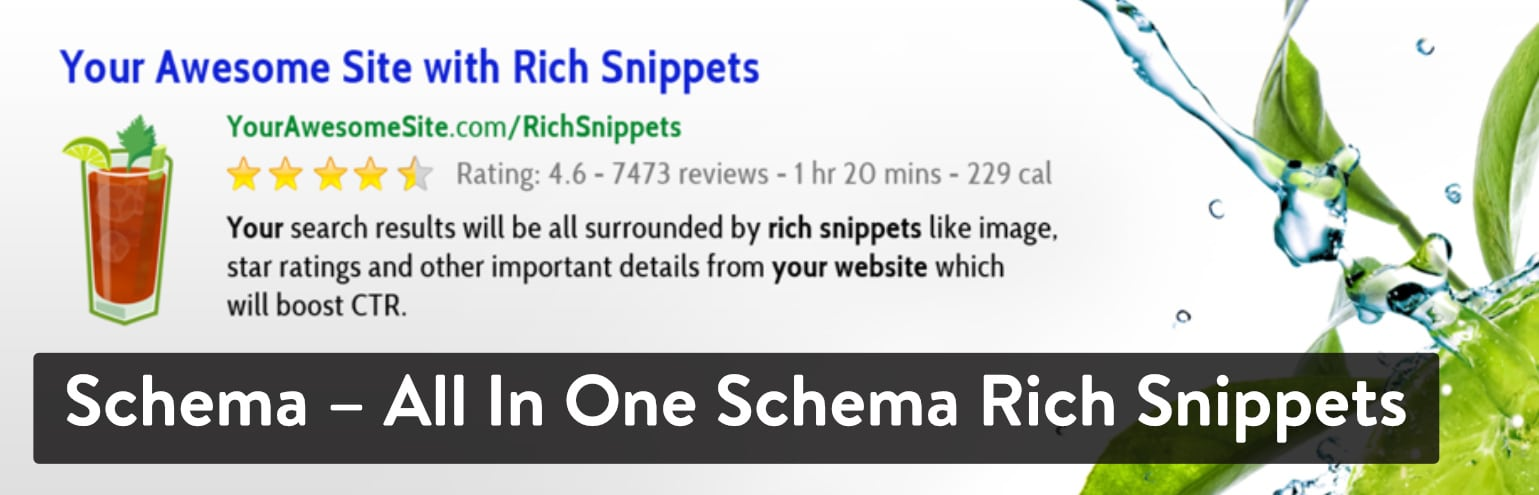 Best WordPress Review Plugins: Schema – All In One Schema Rich Snippets