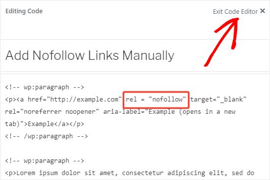 Add nofollow to external links