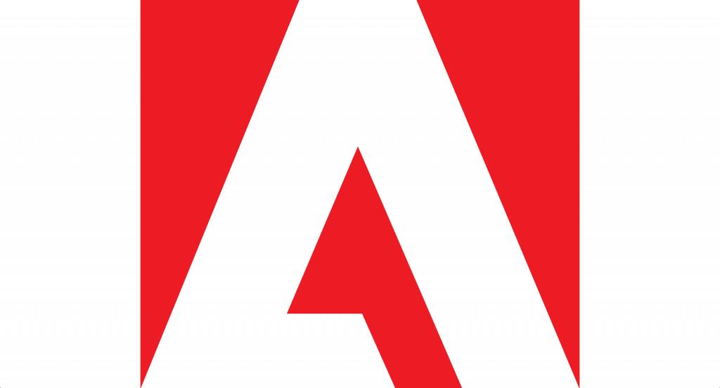 The Adobe logo.