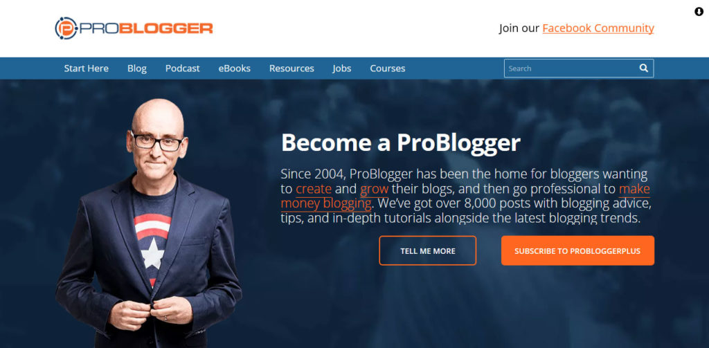 darren rowse of problogger