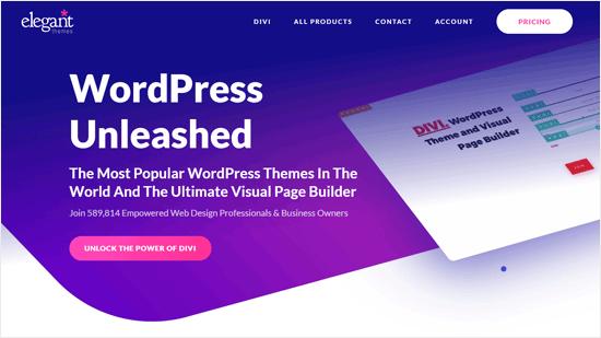 Elegant Themes - Top WordPress Theme Development Company