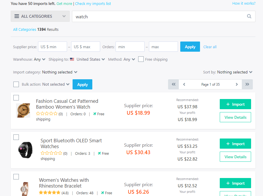 DropshipMe Plugin: Your Database Of The Best Pre-Edited AliExpress Products To Dropship