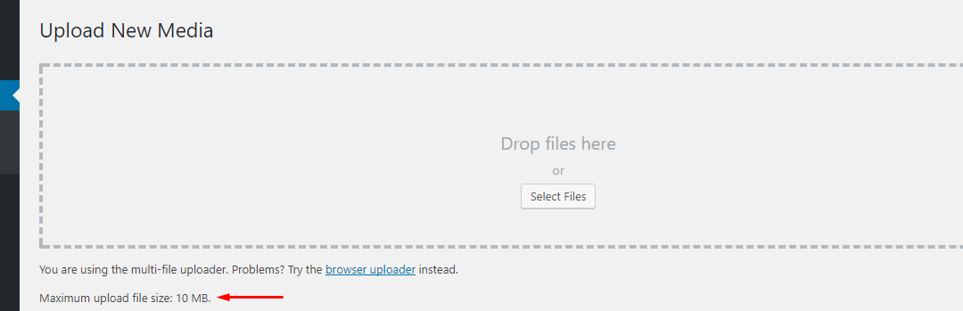 How to Increase WordPress Max Upload File Size Limit